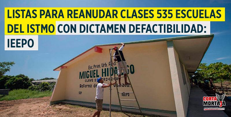 Listas para reanudar clases 535 escuelas del Istmo con dictamen de ...